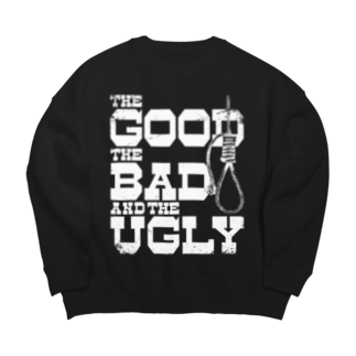 GubbishのThe Good, the Bad and the Ugly(暗い色用) Big silhouette sweats