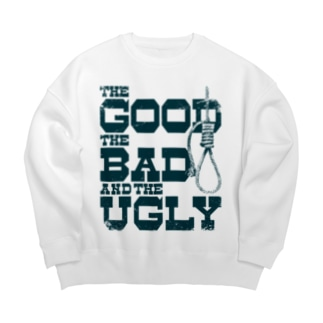The Good, the Bad and the Ugly(淡色ボディ用) Big silhouette sweats