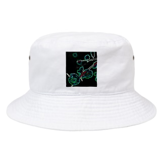 Branch to sprout Red Bucket Hat