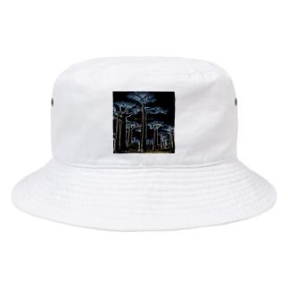 Night Baobab  Bucket Hat