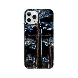 Night Baobab  Clear smartphone cases