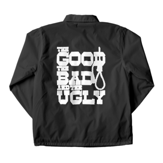 GubbishのThe Good, the Bad and the Ugly(暗い色用) Coach Jacket