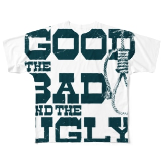 The Good, the Bad and the Ugly(淡色ボディ用) Full graphic T-shirts