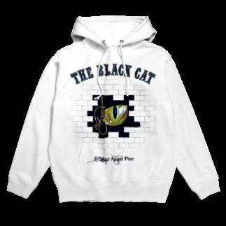 GubbishのThe Black Cat(淡色ボディ用) Hoodies