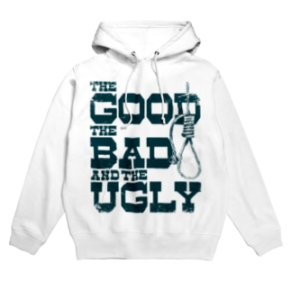 The Good, the Bad and the Ugly(淡色ボディ用) Hoodies