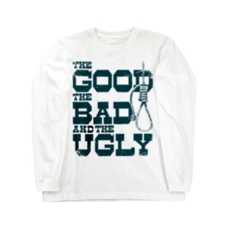 The Good, the Bad and the Ugly(淡色ボディ用) Long sleeve T-shirts