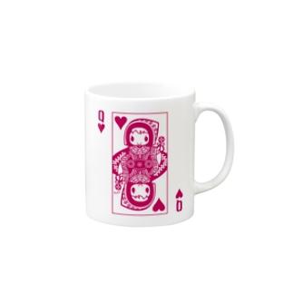 PINK HEART QUEEN マグカップ