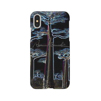 Night Baobab  Smartphone cases