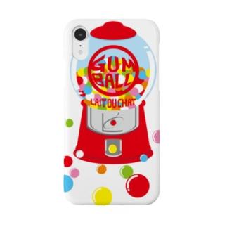 ガムボールマシーン-カラフル Smartphone cases