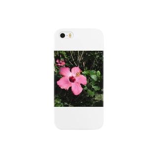 ハイビスカス Smartphone cases