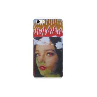 燃える女 Smartphone cases