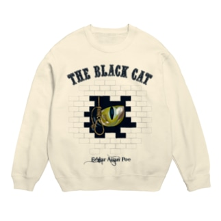 The Black Cat(淡色ボディ用) Sweats