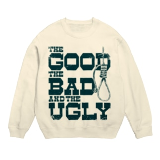 The Good, the Bad and the Ugly(淡色ボディ用) Sweats