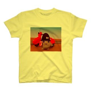 ニットねこオン・ザ・ロード T-shirts