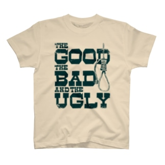 The Good, the Bad and the Ugly(淡色ボディ用) T-shirts