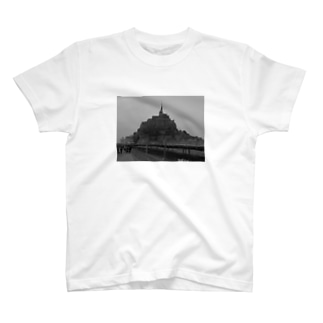 998141c3bdf7 モンサンミッシェル」Tシャツの通販 ∞ SUZURI(スズリ)