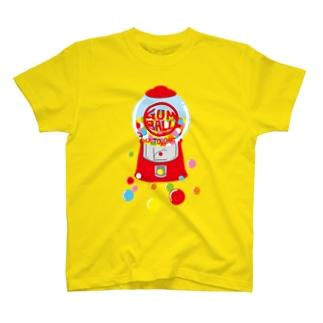 ガムボールマシーン-カラフル T-shirts