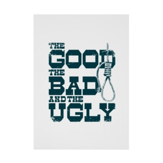 The Good, the Bad and the Ugly(淡色ボディ用) Stickable poster