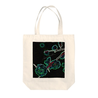 Akieem  ZawadiのBranch to sprout Red Tote bags