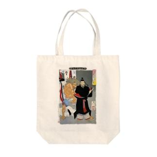 新形三十六怪撰 貞信公夜宮中に怪を懼しむの図【浮世絵・妖怪・公卿】 Tote bags