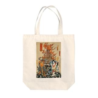 歌舞伎十八番の内 不動【浮世絵・仏画・歌舞伎】 Tote bags