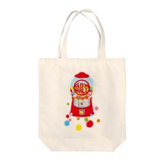 ガムボールマシーン-カラフル Tote bags
