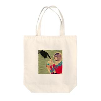 ぽっぷかるちゃー Tote bags