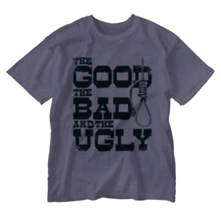 The Good, the Bad and the Ugly(淡色ボディ用) Washed T-shirts