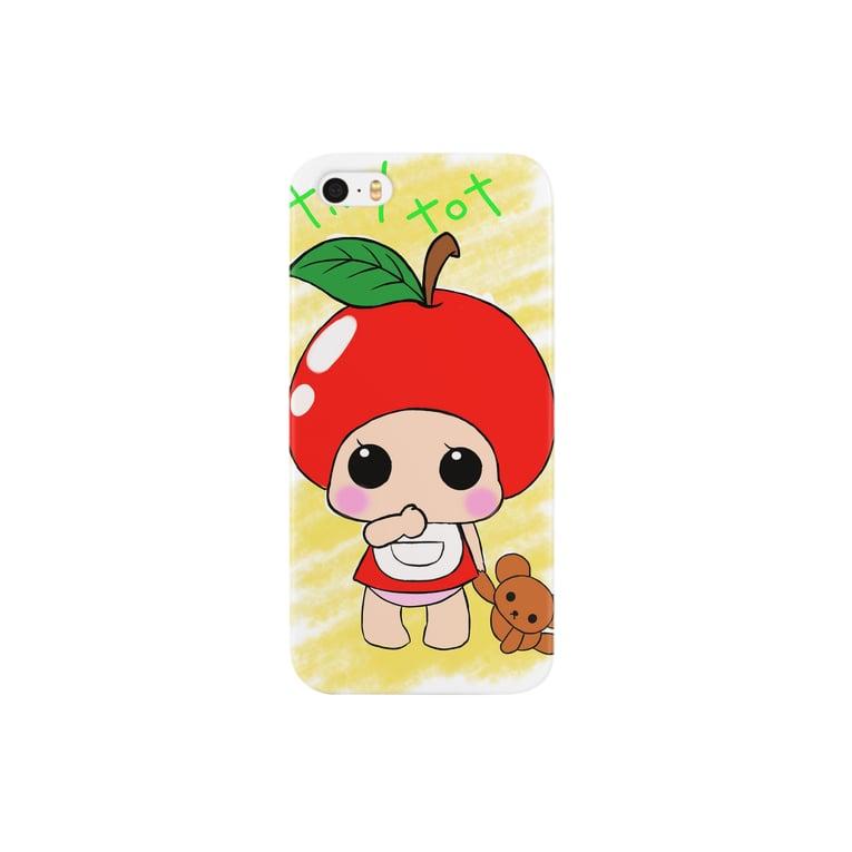 マフィンのtiny tot Smartphone cases