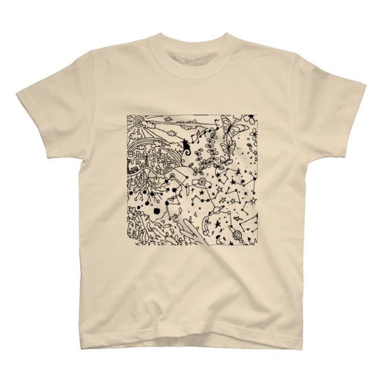 TRIcoloreの1C001 T-shirts