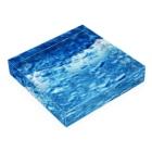 BUSSANのYOROZUYAのMIZUBLOCK Acrylic Blockの平置き