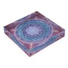 Mandala Mariのサハスラーラパドマ Acrylic Blockの平置き