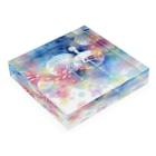 Hidzuki Kaoruの真夏の夜の夢語り Acrylic Blockの平置き