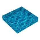 metao dzn【メタをデザイン】の箱水(A) Acrylic Blockの平置き
