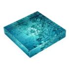 metao dzn【メタをデザイン】の水中 Acrylic Blockの平置き