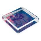 watabokuのThursday / 木曜日 Acrylic Blockの平置き