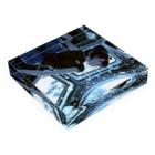 MMstoreのBLUE Acrylic Blockの平置き