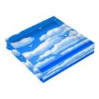 夏のどんぶり(ドンブリ) ブラザーズ【ドンブラ】の海と空 Acrylic Blockの平置き