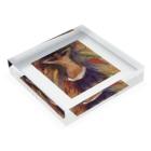 Art Baseのムンク / 1893 / The Hands / Edvard Munch Acrylic Blockの平置き