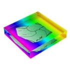 水草のMAPたん3 Acrylic Blockの平置き