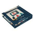 新井リオの【2019.09.12】新井リオの英語日記グッズ Acrylic Blockの平置き