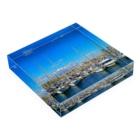 syo_31のBarcelona_sea Acrylic Blockの平置き