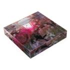 Lost'knotの紅イ花嫁 Acrylic Blockの平置き