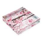 Pudding/アライマリンのしずくの世界 桜 Acrylic Blockの平置き