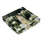 agoeraの移り気な白 Acrylic Blockの平置き