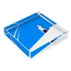 88(yaha)のOver Blue Acrylic Blockの平置き