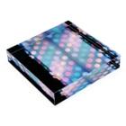 HIROHASHI SACHIのあめ色ドット02 Acrylic Blockの平置き