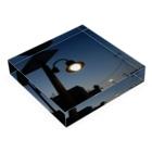 夜の青空の夜の青空0038 Acrylic Blockの平置き