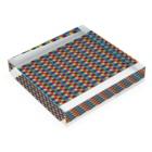 Yamachan0201のレインボー Acrylic Blockの平置き