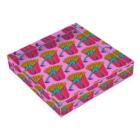 Mieko_Kawasakiの誘惑のフライドポテト🍟 ピンクAO / FRENCH FRIES GULTY PLEASURE Acrylic Blockの平置き
